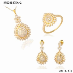Monili in oro 18k set dubai